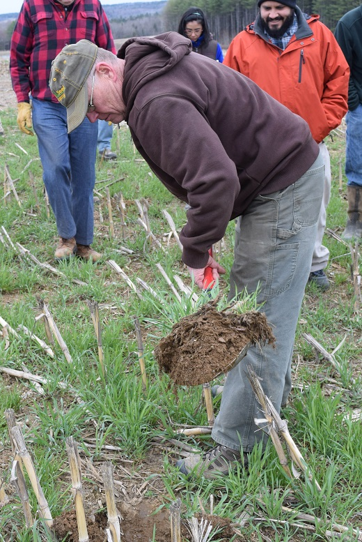 When Bob Fogler started to slowly incorporate no-till farming into his practices he began to see a difference in soil productivity.