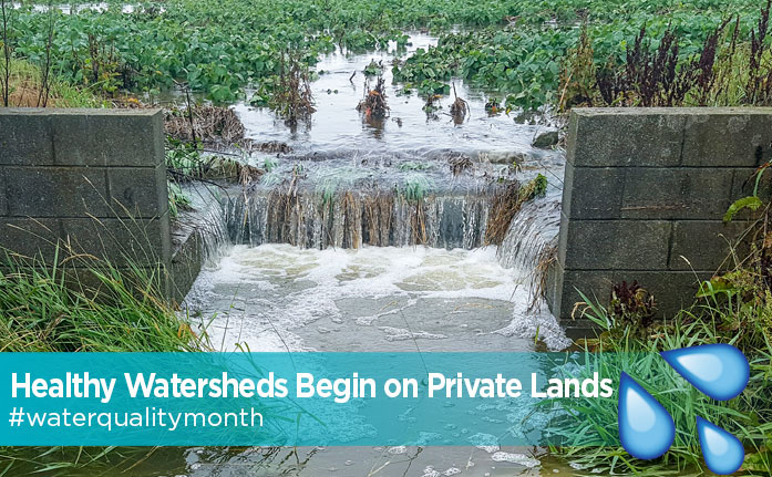 Healthy Watersheds Begin on Private Lands