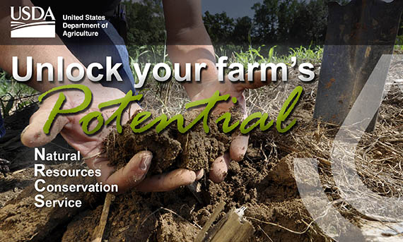 Unlock your farm's Potential. Natural Resources Conservation Service