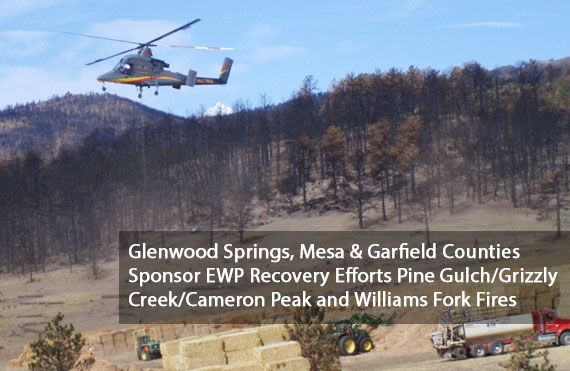 Pine Gulch_Grizzly Creek_Cameron Peak and Williams Fork fires Sponsor Announcement