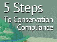 Five Steps to Meet Conservation Compliance