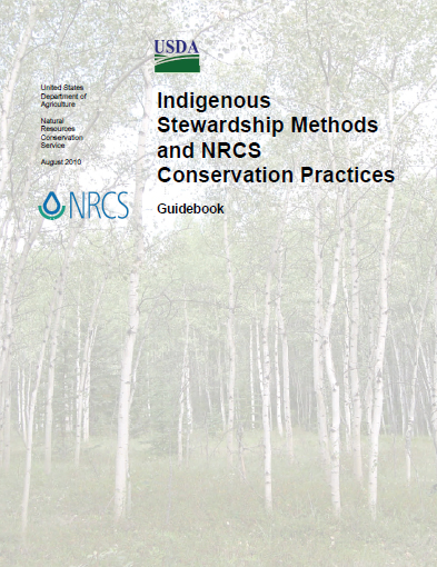 Cover page of Indigenous Stewardship Methods