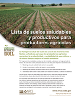 Soil Secrets Checklist Spanish