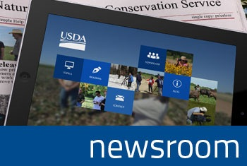 Newsroom image shortcut photo